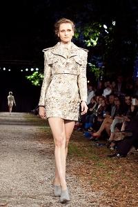 gosia baczynska pokaz kolekcja jesien zima 2014 2015 paris fashion week lamode _16_